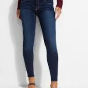 GUESS Power Skinny Low-Rise Jeans 25